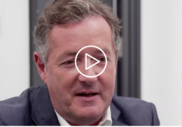 Piers Morgan – ambition and leadership